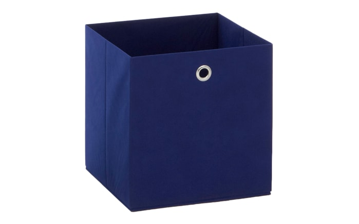 Aufbewahrungsbox in blau, 32 x 32 cm