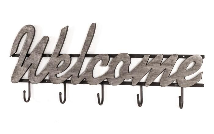 Wandgarderobe Welcome aus Metall