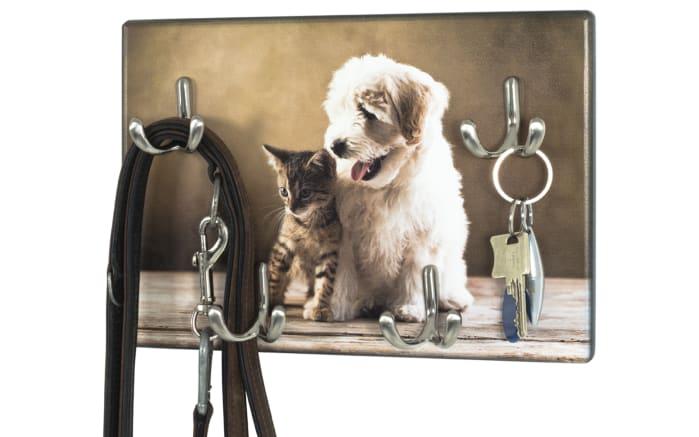 Schlüsselboard Animals in beige
