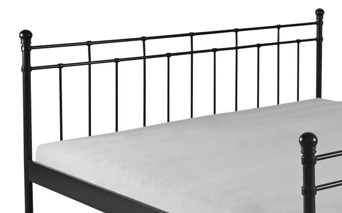Doppelbett Verena in schwarz