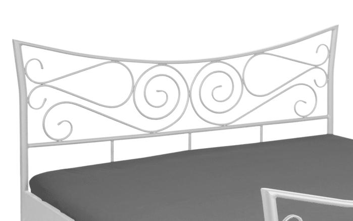 Doppelbett Justine in weiß