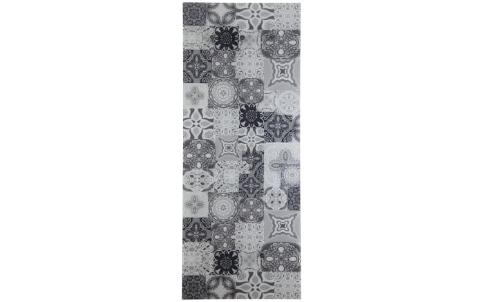 Glasgarderobe Felix mit Mosaik-Motiv, 50 x 125 cm