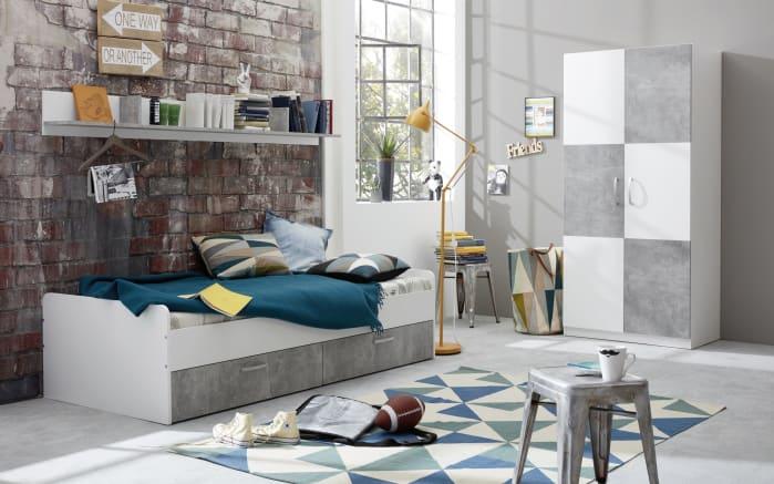 jugendzimmer canaria in wei absetzungen in stone nachbildung online bei hardeck entdecken. Black Bedroom Furniture Sets. Home Design Ideas