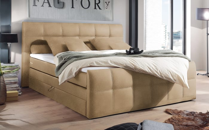 boxspringbett sacramento b2 in sand online bei hardeck kaufen. Black Bedroom Furniture Sets. Home Design Ideas