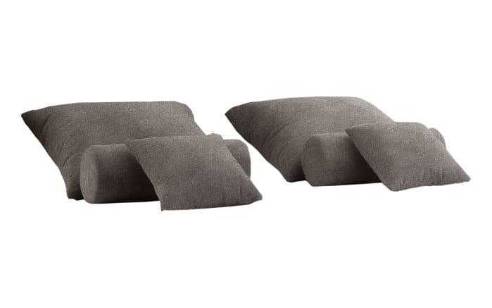 Kissen-Set 6-teilig in stein
