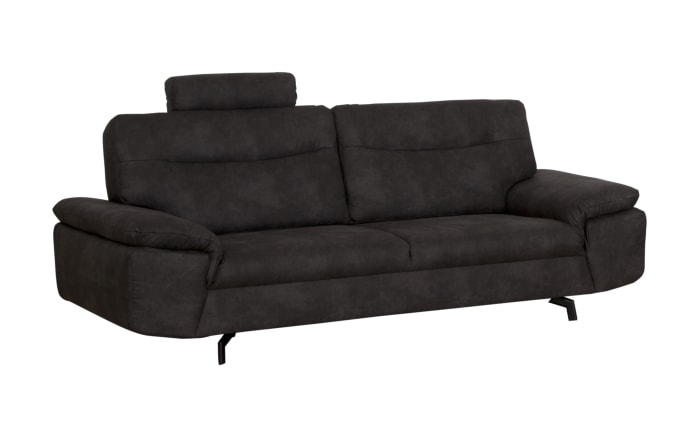 Sofa 3-Sitzer Stan in anthrazit