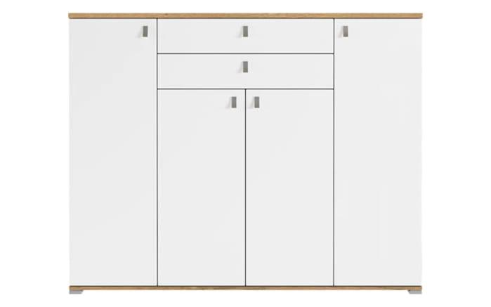 Schuhschrank 6029 in Grandson-Eiche-Optik/weiß