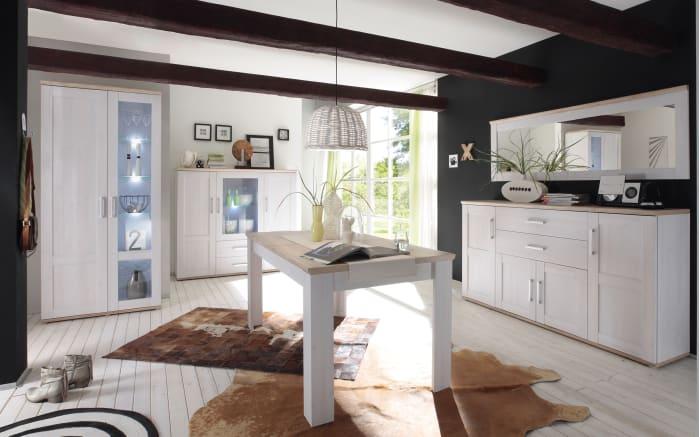 esstisch romance in san remo eiche optik sibiu l rche. Black Bedroom Furniture Sets. Home Design Ideas