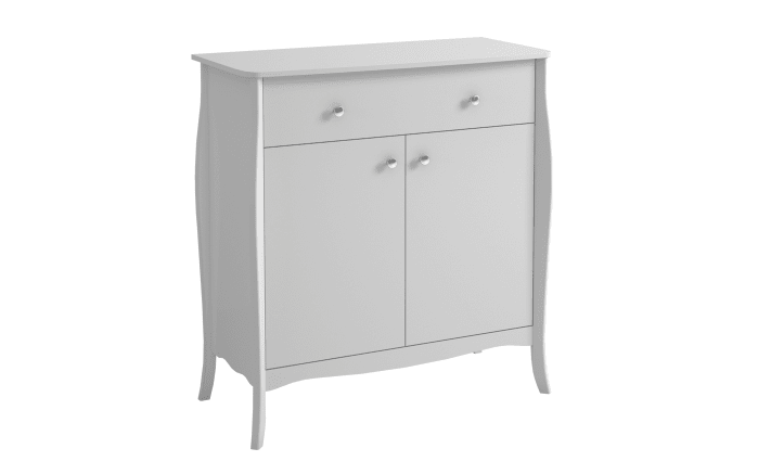 Sideboard Baroque in weiß