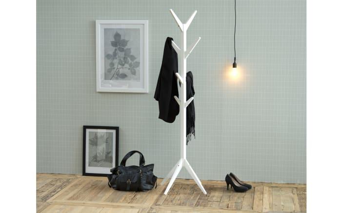 Kleiderständer Ascot in weiß