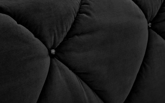 Boxspringbett Bella in schwarz, 2 x Matratze in fest-02
