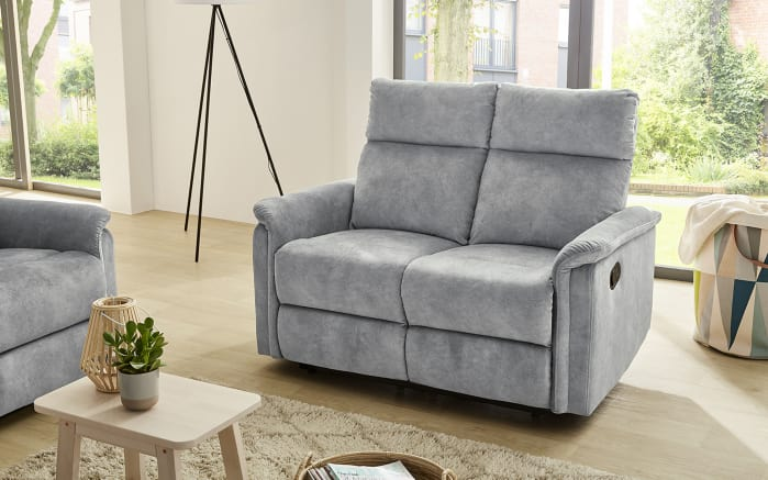 Sofa Amrum 2 in Vintage hellgrau