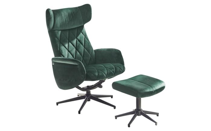 Relax-Chair Verona in dunkelgrün