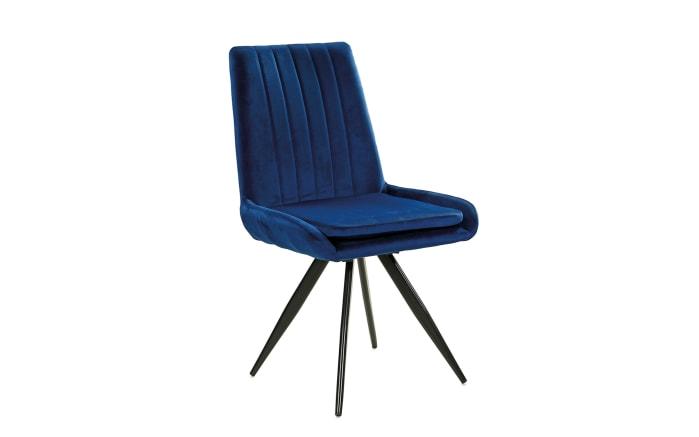 Stuhl Gero in blau