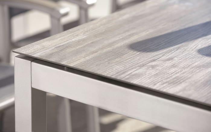 Gartentischgestell 101001 aus Aluminium in graphit