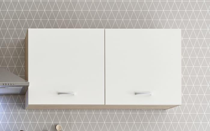 Küchenblock Andy in weiß/Sonoma-Eiche-Nachbildung, ohne Elektrogeräte-02