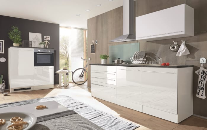 Küchenblock Jazz 4 in weiß/anthrazit-01