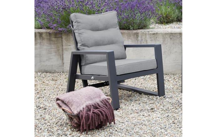 Garten-Lounge-Set Bondino in anthrazit
