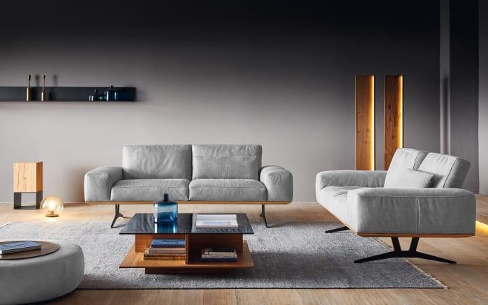 Sofa 2-Sitzer in colorado, mit Holzrahmen