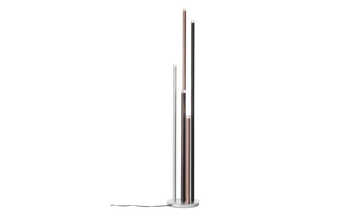 LED-Standleuchte Cembalo in braun/schwarz/alu, 155 cm-03