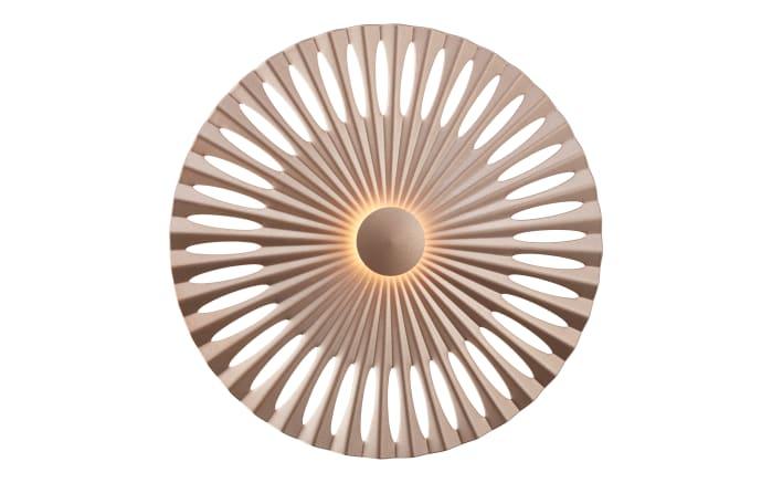 LED-Wandleuchte Phinx in braun-01