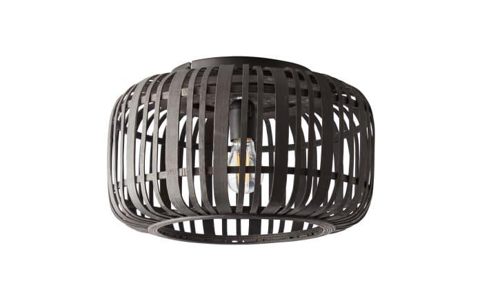 Deckenleuchte Woodrow in schwarz/Holzdekor-03