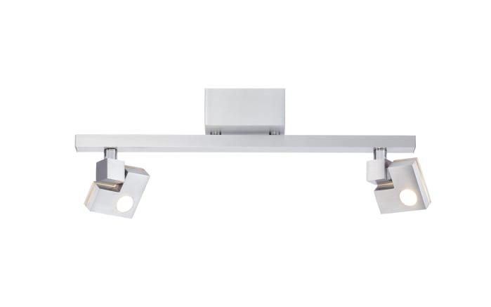 LED-Deckenleuchte Degree in silberfarbig, 2-flammig-01