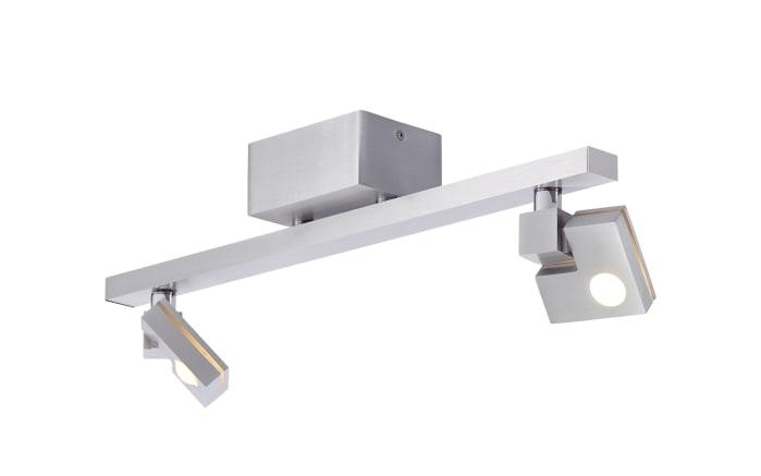 LED-Deckenleuchte Degree in silberfarbig, 2-flammig-03