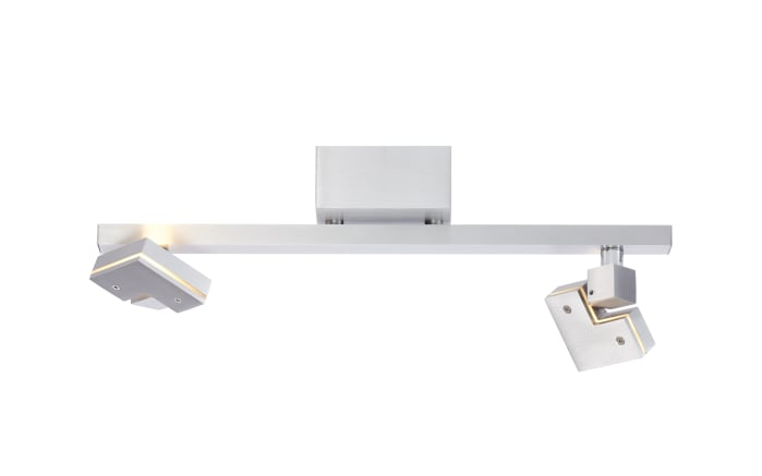 LED-Deckenleuchte Degree in silberfarbig, 2-flammig-05