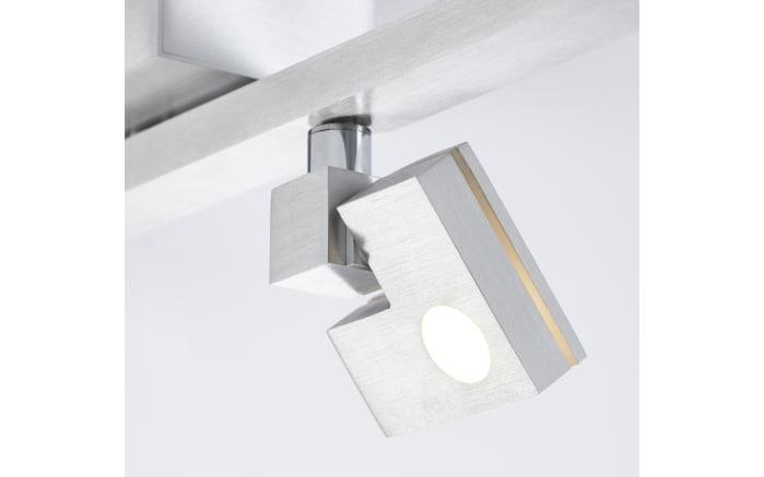 LED-Deckenleuchte Degree in silberfarbig, 4-flammig-04