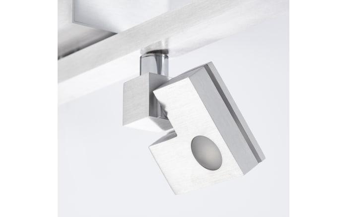 LED-Deckenleuchte Degree in silberfarbig, 4-flammig-05