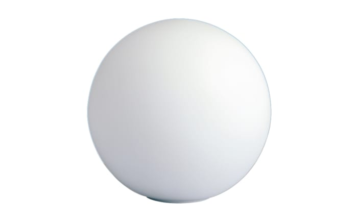 Tischleuchte Glaskugel in weiß, 20 cm-01
