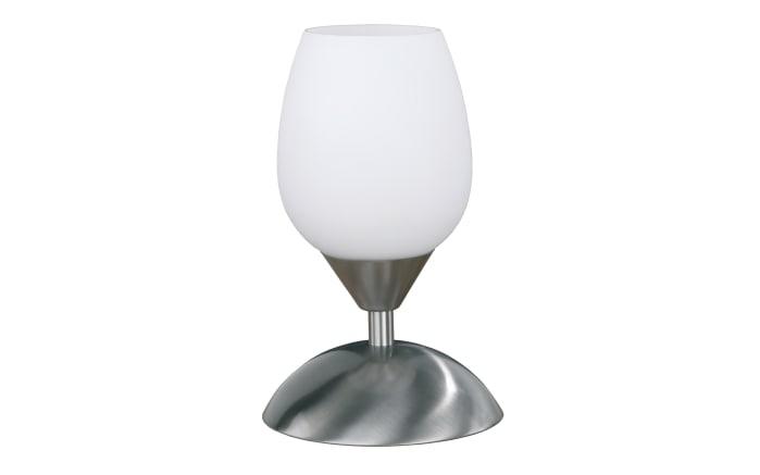 Tischleuchte Action Flame in nickel matt, 21 cm