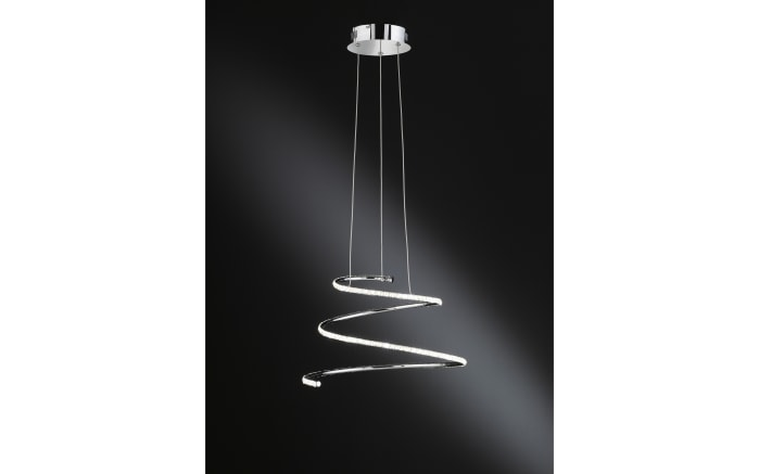 LED-Pendelleuchte Visio in Chrom-Optik