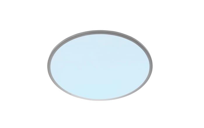 LED-Deckenleuchte Linox in silberfarbig, 2900-6100 K
