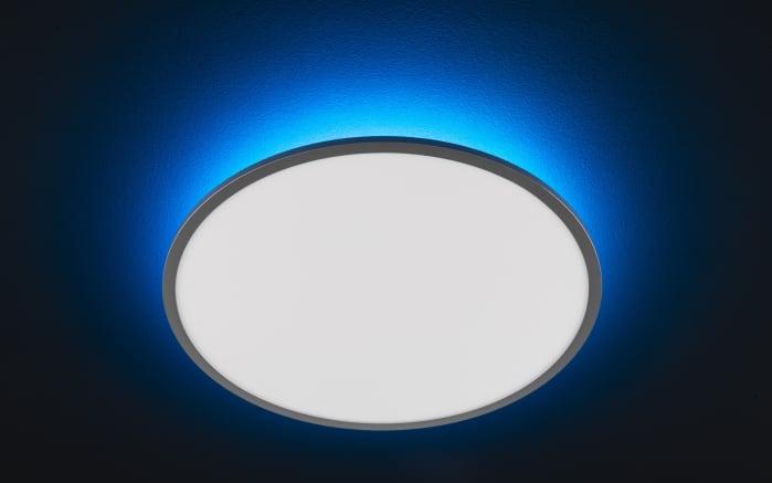LED-Deckenleuchte Linox CCT RGB in silberfarbig/weiß, 60 cm-04