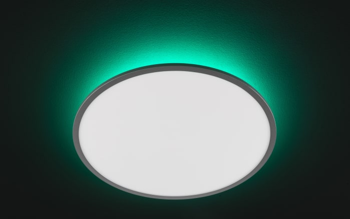 LED-Deckenleuchte Linox CCT RGB in silberfarbig/weiß, 60 cm-05