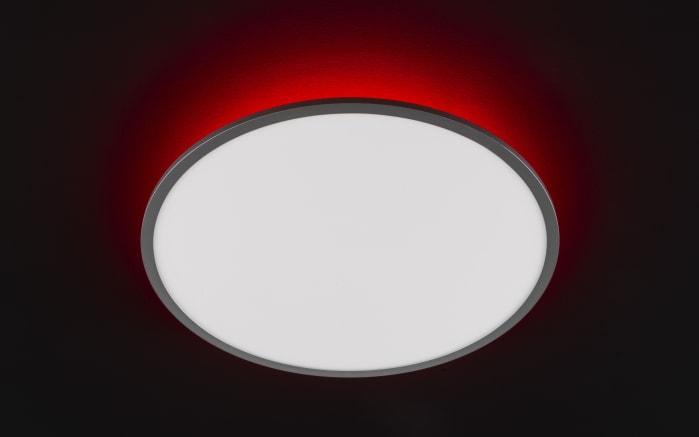 LED-Deckenleuchte Linox CCT RGB in silberfarbig/weiß, 60 cm-06