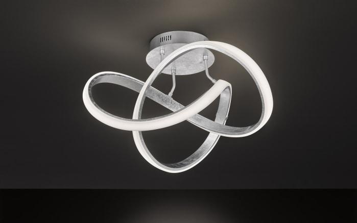 LED-Deckenleuchte Indigo in Blattsilber-Optik