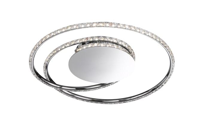 LED-Deckenleuchte Opus in chromfarbig, 35 cm