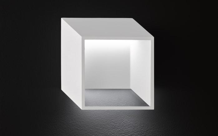 LED-Wandleuchte Quebec in weiß