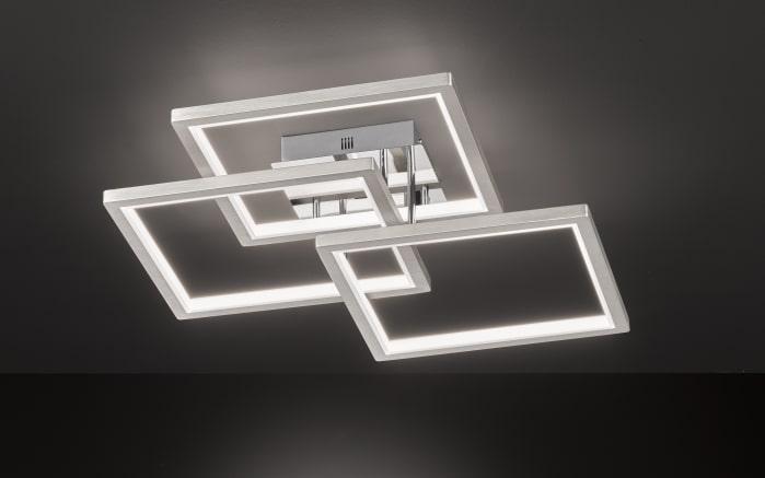 LED-Deckenleuchte Viso in nickel matt, 70 cm