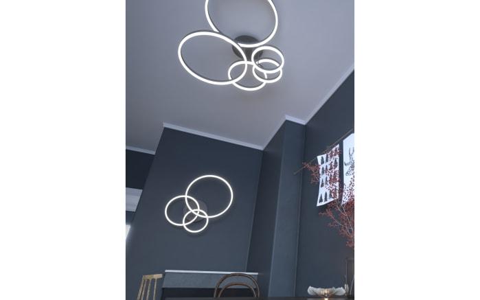 LED-Deckenleuchte Vaasa in dunkelgrau, 3-flammig-06