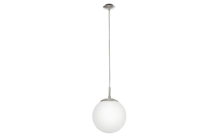Pendelleuchte Rondo in weiß, 20 cm