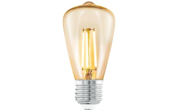 LED-Leuchtmittel länglich in bernstein, 3,5 W / E27