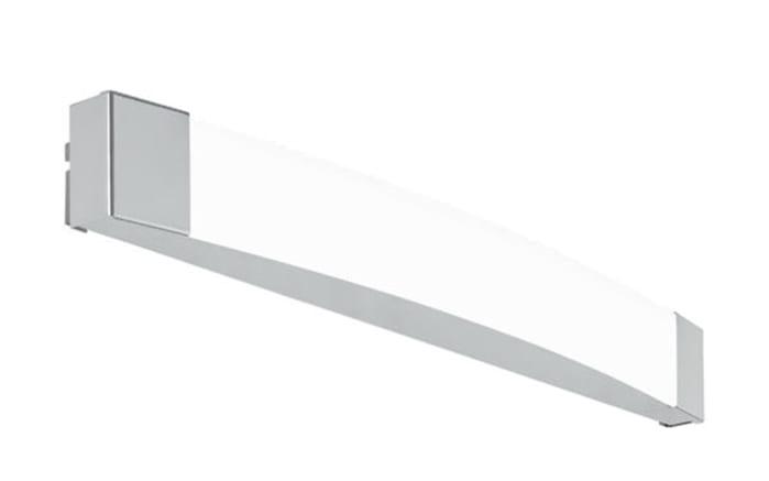 LED-Spiegelleuchte Siderno in chromfarbig, 58 cm