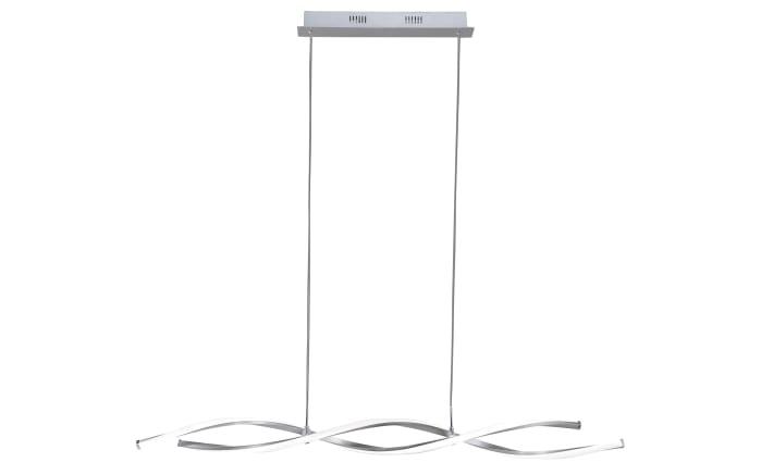 LED-Pendelleuchte Polina in nickel matt, 110 cm