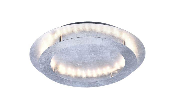 LED-Deckenleuchte Nevis in silberfarbig, 50 cm-01