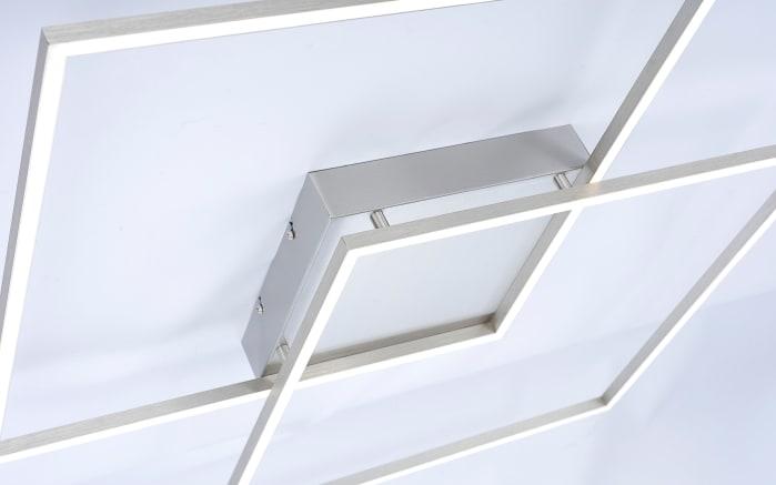 LED-Deckenleuchte Q-Inigo in stahlfarbig, 68 x 68 cm-02
