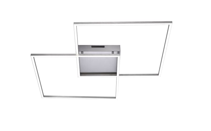 LED-Deckenleuchte Q-Inigo in stahlfarbig, 68 x 68 cm-01